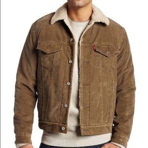 Levi's Men's Sherpa Canvas Jacket